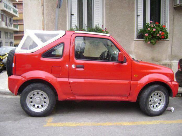 Suzuki Jimny- περιοχή Κόστα στο Πόρτο Χέλι Αργολίδας