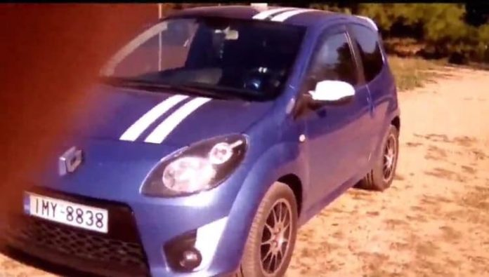 Κλοπή αυτοκινήτου Renault Twingo GT από Πανόραμα Κηφισιάς